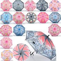 Детский зонтик со свистком длина 55/68 см, диаметр 89 см, спица 49.5 см