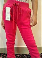 Розовые модные штанишки на байке. Арт-1535