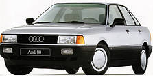 Защита двигателя на Audi 80 B-3 (1986-1991)