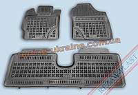 Коврики в салон из мягкого полиуретана Rezaw Plast  для Toyota Yariz 2010 3шт (1 цельный)