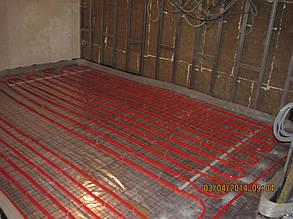 """Монтаж системи опалення """"Тепла підлога"""" котеджу с. Старі Кодаки 16"""