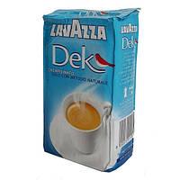 Молотый кофе без кофеина. Lavazza Decaffeinato, 250 g