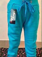 Голубые модные штанишки на байке. Арт-1535