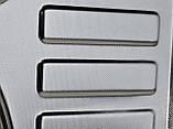 Кухонная врезная мойка Platinum 7750 MicroDecor 0,8мм, фото 2