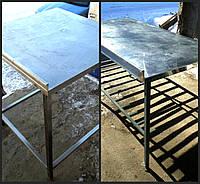 Столы разделочные нержавеющая сталь б/у  Столы производственные бу   Разделочный стол б.у.