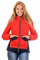 Стильная куртка женская демисезонная в 3х цветах 01.172