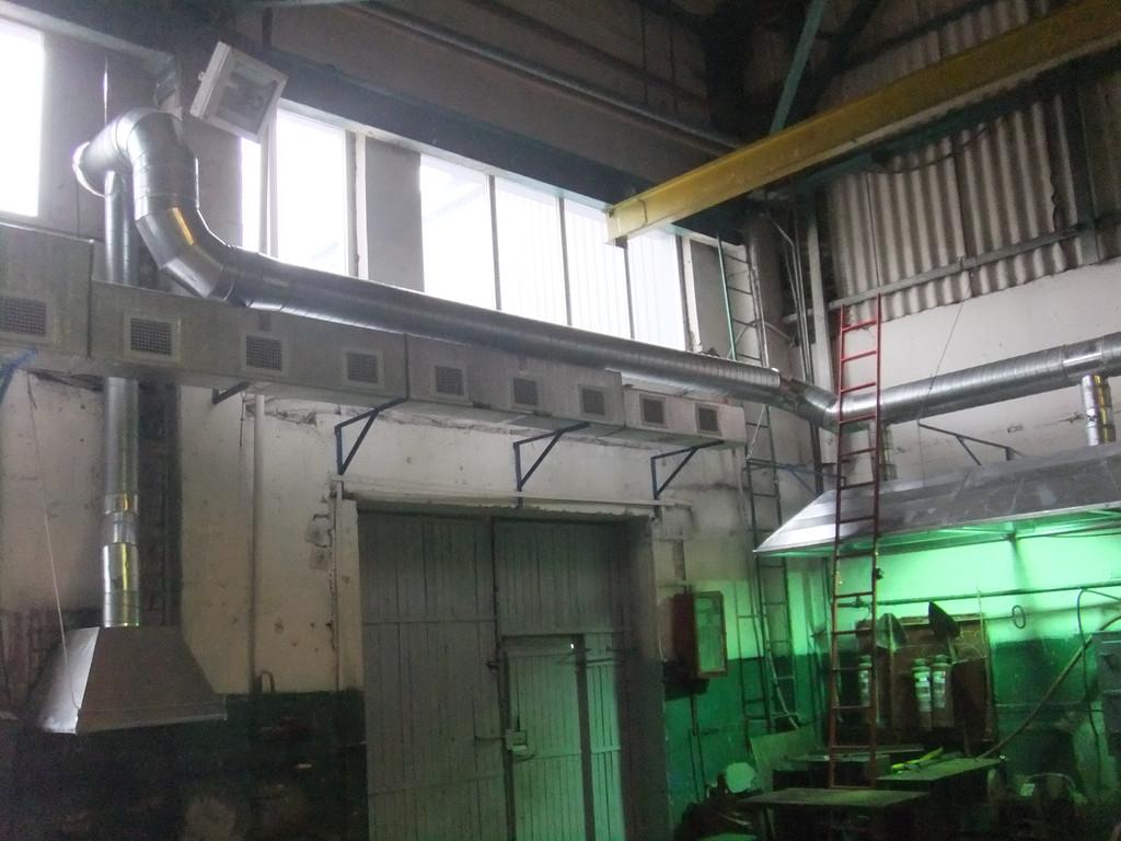 Кондиционирование и вентиляция цеха г. Палоград, шахта Павлоградская (компания ДТЭК)
