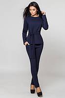 Трикотажный    темно-синий  костюм Фламинго  Leo Pride  42-46 размеры