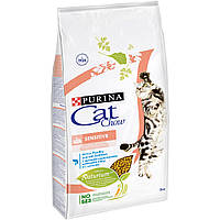 Cat Chow Adult Sensitive 15 кг Сухой корм для кошек с чувствительным пищварением