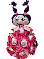 """Букет из конфет ребёнку на подарок """"Мила"""""""