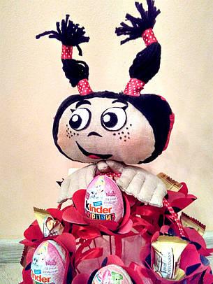 """Букет из конфет ребёнку на подарок """"Мила"""", фото 2"""