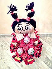 """Букет из конфет ребёнку на подарок """"Мила"""", фото 3"""