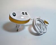Зарядное устройство MICRO + 2 USB (Diamond USB)
