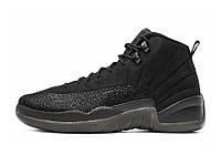 Баскетбольные кроссовки Nike Air Jordan 12 OVO Black