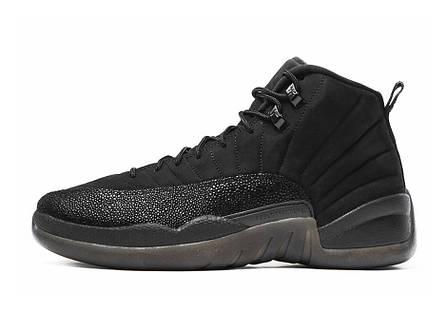 Мужские кроссовки Nike Air Jordan 12 OVO Black 873 864 032, Найк Аир Джордан 12, фото 2
