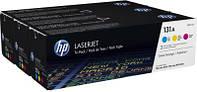HP 131A CLJ M276/M251 (CF211A,CF212A, CF213A) CYM (3*1800 стр) Тройная упаковка