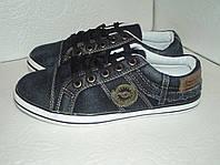 Подростковые джинсовые кеды, размеры от 36 (22,5 см), 37( 23,5 см )