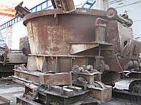 Ремонт, восстановление, поставка под заказ Б/У печей сталеплавильных ДСП,ДППТ от 0,5 до 30 тонн