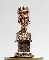Статуэтка Бюст Нефертити с медным покрытием