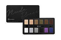 Палетка теней Nude Rose Night Fall - 12 Color Eyeshadow Palette BH Cosmetics Оригинал