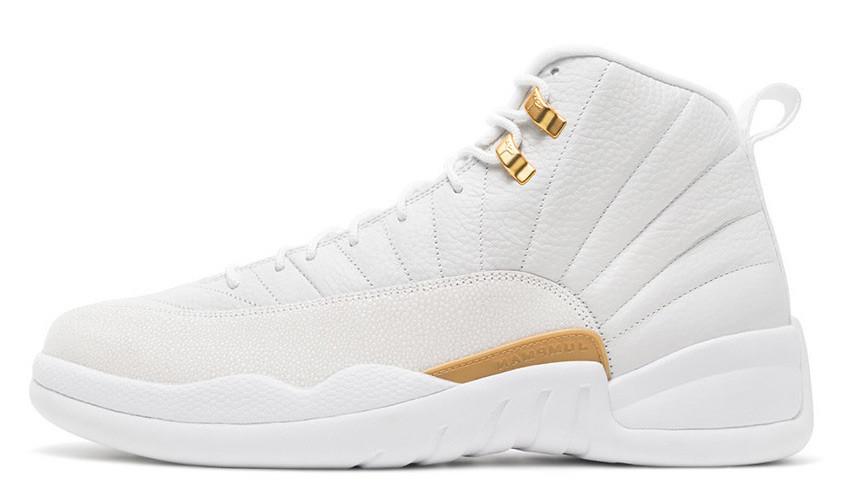 Мужские кроссовки Nike Air Jordan 12 Retro Ovo White