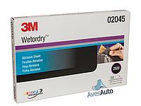 Наждачная водостойкая бумага - 3M Wetordry P2500 (02045)