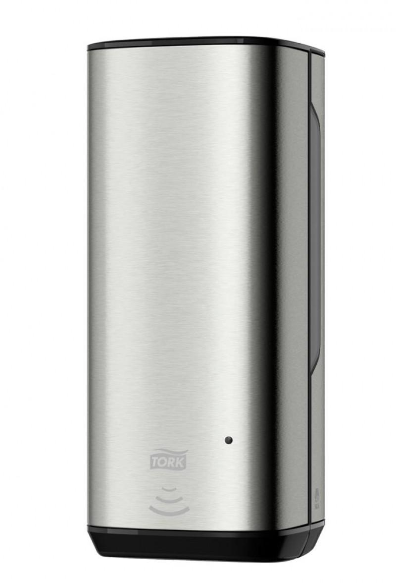 Tork Металлический сенсорный диспенсер для мыла-пены, 1 л.