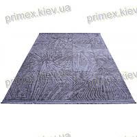 Акриловый рельефный ковер Табоо (Ламинат) цвет серый
