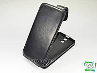 Откидной чехол из натуральной кожи для HTC One E8 Dual SIM
