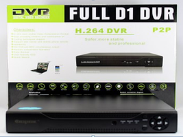 Домашний видеорегистратор на 16 камер  без жесткого диска с возможностью удаленного доступа DVR 6616 16-CAM
