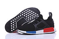 Кроссовки мужские Adidas NMD XR1 black-white-red, фото 1