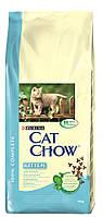 Cat Chow Kitten 15 кг - сухой корм для котят с курицей