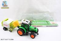 Трактор инерционный 666-106A + прицеп