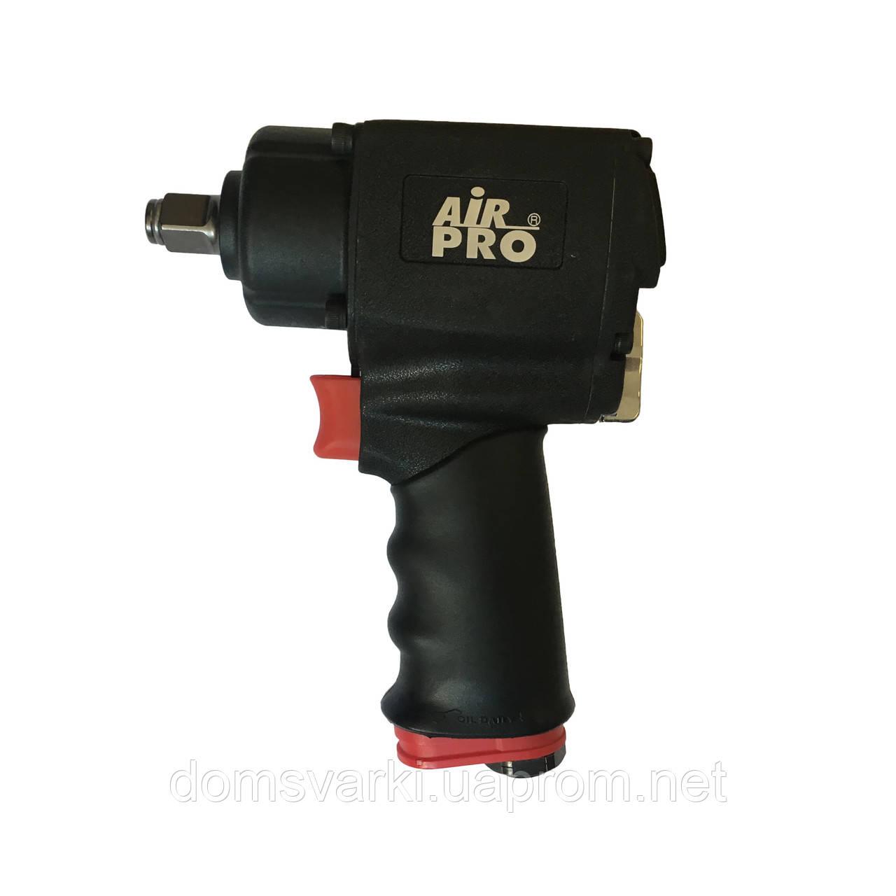 Гайковерт пневматический ультракомпактный ударный пистолетного типа Air Pro SA22107Q