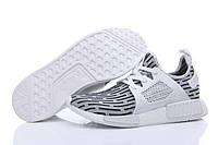 Кроссовки мужские Adidas NMD XR1 white-black, фото 1