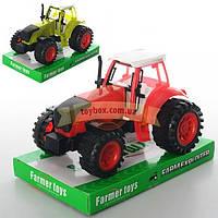 Трактор 0488-260 инерционный 2 цвета