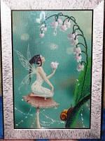 Фея ландышей Картина вышитая бисером, фото 1