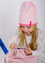 Детская шапка ДЖОВАНА для девочек оптом размер 50-52-54