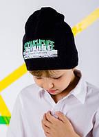 Детская шапка ЛЕОН для мальчиков размер 52