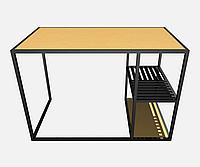 Стол офисный в стиле лофт