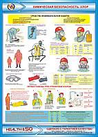 Стенд по охране труда «Химическая безопасность. Хлор» №2