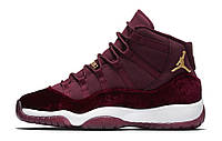 "Женские кроссовки Nike Air Jordan 11 Retro ""Heiress"" Bordo"