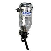 Бутылка Savic Glass Bottle с креплением в клетку, 1 л