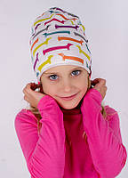 Детская шапка МИЛО для девочек размер 48-50-52