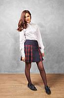 Юбка школьная синяя, фото 1
