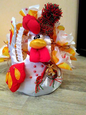 """Букет из конфет на подарок """"Петушок"""", фото 2"""