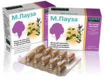 М.ПАУЗА - Женский комплекс. Устраняет дискомфорт в период менопаузы