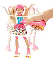 """Кукла Барби """"Героиня Видеоигр"""" на светящихся роликах / Barbie Video Game Hero Girls Anime Doll, фото 4"""