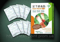 Пластырь для выведения токсинов на стопы