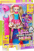 """Кукла Барби """"Героиня Видеоигр"""" на светящихся роликах / Barbie Video Game Hero Girls Anime Doll, фото 7"""